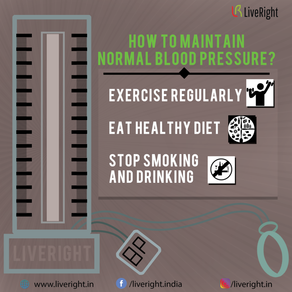 how to maintain normal blood pressure